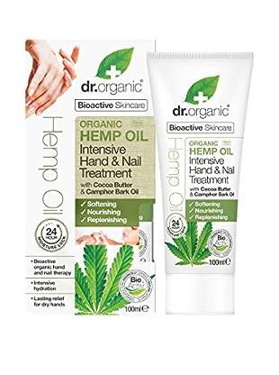 Dr Organic Trattamento Mani e Unghie Hemp Oil 100 ml