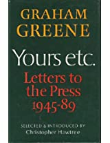 Yours, etc.: Letters to the Press (Reinhardt)