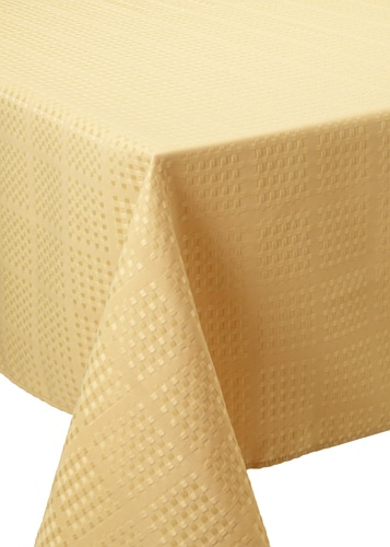 Bardwil Evolution Oblong Tablecloth (Straw)