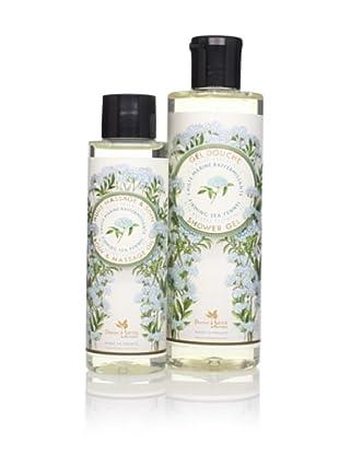 Panier des Sens Firming Sea Fennel Shower Gel and Massage Oil, Set of 2