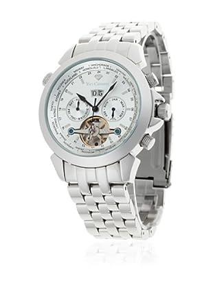 Yves Camani Reloj Worldtimer Automático Plata