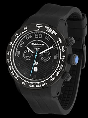 Bultaco H1Sb48C-Sb5 - Reloj Scandium Limited Correa Silicona Negro