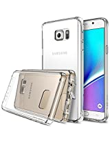 Galaxy Note 5 Case - Ringke FUSION ***All New Dust Free Cap & Drop Protection*** [FREE Screen Protector][CRYSTAL VIEW] Premium Crystal Clear Back Shock Absorption Bumper Hard Case for Samsung Galaxy Note 5