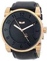 Vestal Unisex Dop012 Doppler Rose Gold Black Watch - Dop012