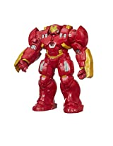 Avengers Titan Hero Tech Interactive Hulk Buster Figure, Multi Color (12-inch)