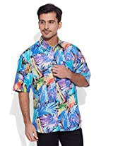 Very Me Jazz by the Bay Men's Cotton Printed Shirt (32)