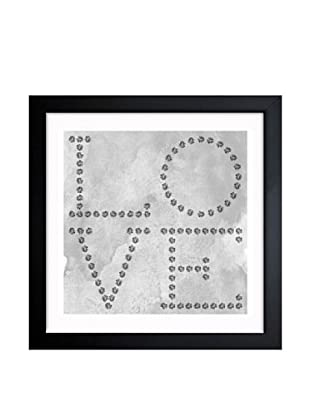Oliver Gal Love Diamonds Framed Art
