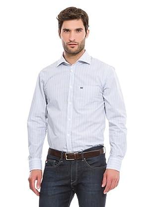 Pedro del Hierro Camisa Vestir Vichy (Azul)