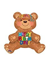 Anagram Happy Birthday Bear Multi-Balloon