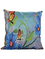Twisha Butterfly Printed Pillow 12 X 12 X 4 Inch
