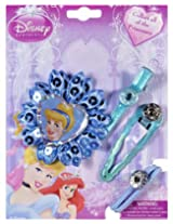 Disney Cinderella On Blue Flower Hair Accessories