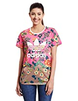 adidas Originals Women's Floral T-Shirt