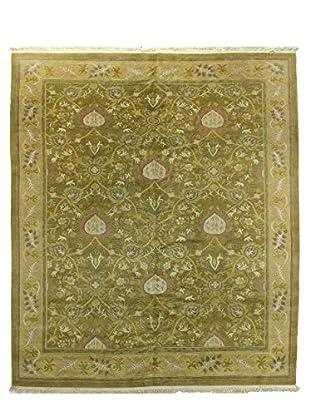 Bashian Tibetan Rug, Gold, 8.4X9.9