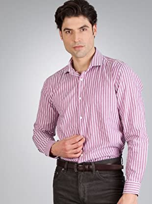 Hugo Boss Camisa Rayas (blanco)