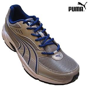 Puma 18749604 Silver Blue Men's Sports Shoe