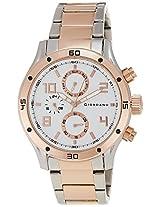 Giordano Analog White Dial Men's Watch - A1003-44