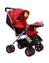 Sunbaby Jumbo Stroller (Red)