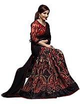 Indian Fashionista Multicolour Geometric Print Bollywood Model Saree
