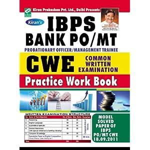IBPS Bank PO/MT Common Written Examination Practice Work Book