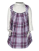 Nauti Nati Jumper Style Dress - Checks Print