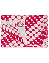 Bey Bee Pink Circle Baby Bed Protector Sheet, Large, Printed (Single Bed)