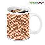 HomeSoGood Ultimate Red Ships On White Coffee Mug