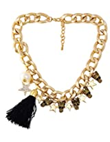 8 Republic London Mother's Day Special Skull Star Tassel Necklace For Women