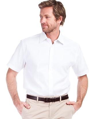 Cortefiel Camisa Pinzas (blanco)