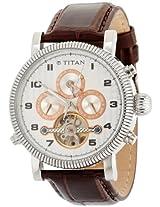 Titan Automatic Chronograph Multi colour Dial Men's Watch - 9274SL01