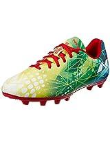 Nivia Invader Football Shoes, Men's 10 UK (Blue/Yellow)