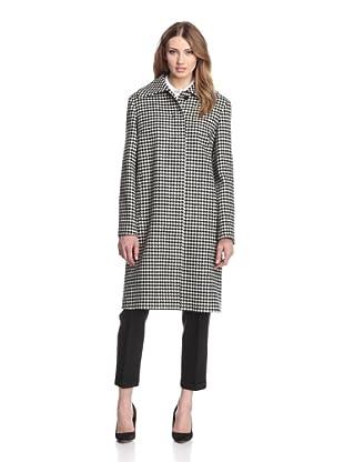 Jil Sander Women's Macao Houndstooth Coat (Multi)