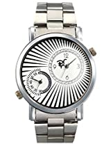 RICO SORDI Mens Round Multifunctional Dual Time Steel Watch_RSMW_S8DT
