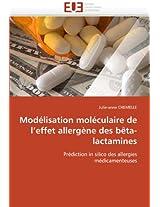 Modelisation Moleculaire de L''Effet Allergene Des Beta-Lactamines (Omn.Univ.Europ.)