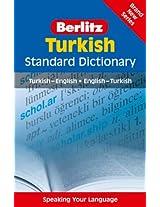 Berlitz: Turkish Standard Dictionary (Berlitz Standard Dictionary)
