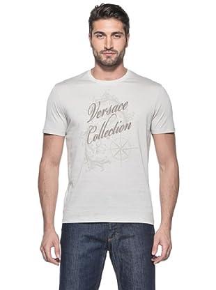 Versace Collection Camiseta Jerom (Crema)