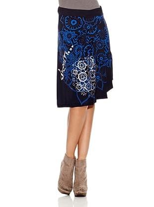 Desigual Falda Jackie (Azul Klein)