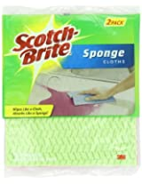 Scotch-Brite Sponge Cloth 2-Count (6-Pack / 12 Sponges)