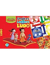 Chhota Bheem Snakes and Ladders with Ludo, Multi Color