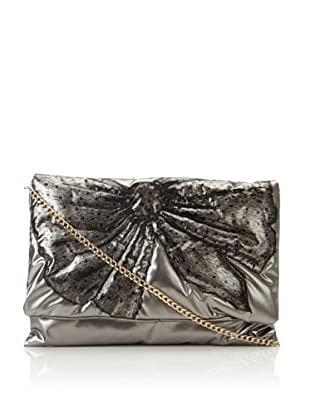 RED Valentino Women's Bow Shoulder Bag, Silver/Pewter