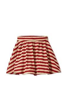 Soft Clothing Kid's Ana Bubble Skirt (Capetown Stripe)