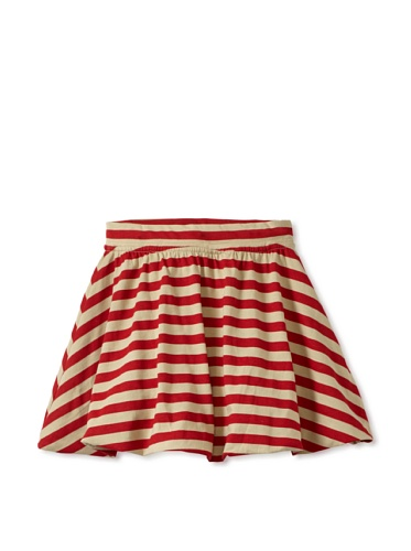 Soft Clothing Kid's Ana Bubble Skirt (Capetown Stripe)