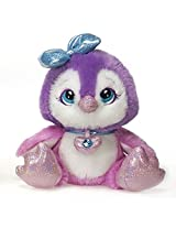 Pearl The Pink Purple Penguin Sparkle Starz Plush Stuffed Animal Toy By Fiesta Toys 8""