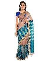 The Chennai Silks - Silk Saree - Brown (CCM-134)