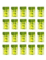 "20 x 2 Axis 23mm x 15mm ""T"" Dual Tube Vial Bubble Spirit Level Screw Mountable"