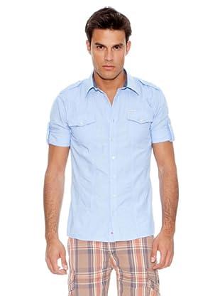 Pepe Jeans London Camisa Abbey (Azul)