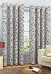 Casamoda Athena Premium Jaquard Curtain (1 Pc) Siyaram's
