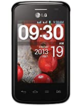 LG Electronics LG Optimus L1 II Dual E420, Black - Factory Unlocked International Version - No Warranty - Unlocked Cell Phones - Retail Packaging - Black