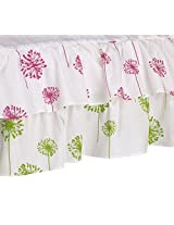 Cotton Tale Designs Crib Skirt, Hottsie Dottsie Dust Ruffle