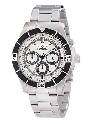 Invicta 12841 - Reloj de Caballero cuarzo metálico Plata