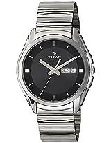 Titan Analog Black Dial Men's Watch - NE15782489SM04